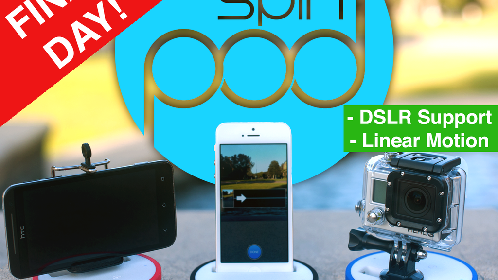 Spinpod: Seamless panoramic & motion time-lapse photography project video thumbnail