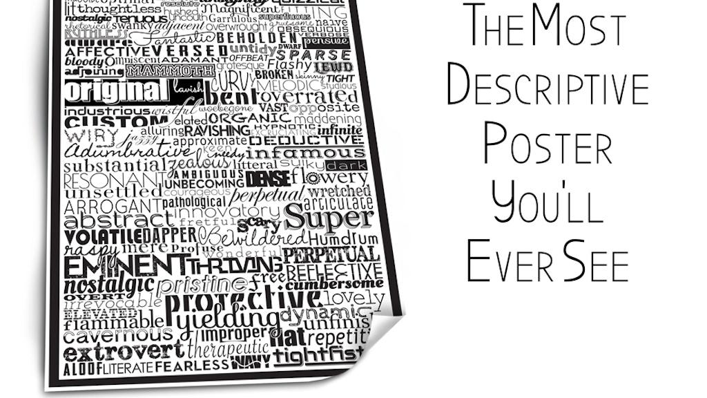 Calendar Typography Gear : Typographic poster by josh avren — kickstarter