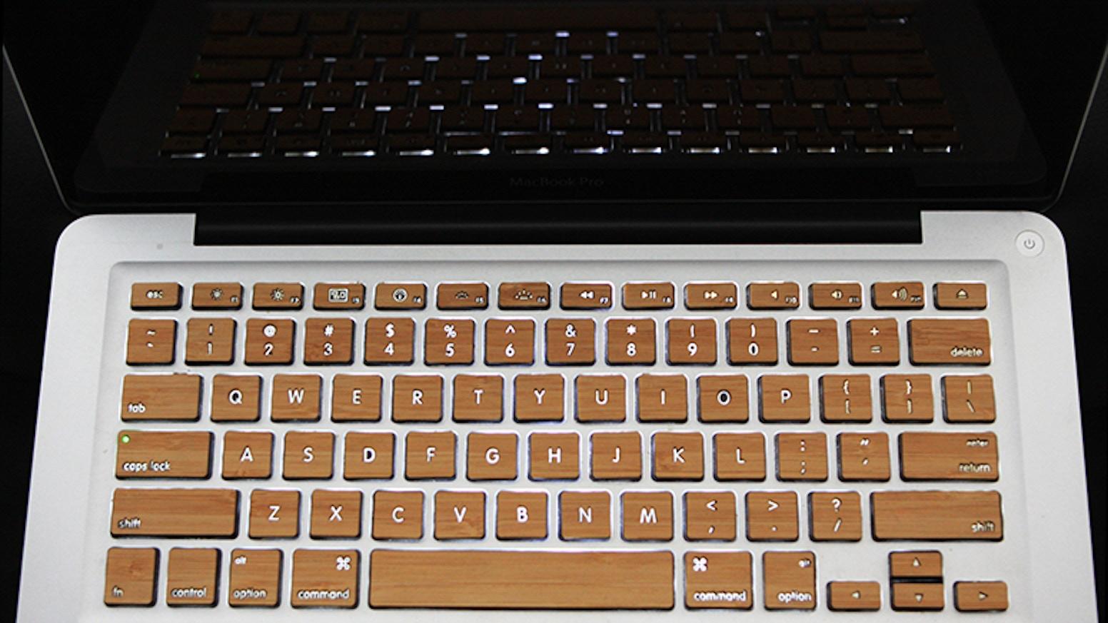 Wood keys for macbook apple keyboards by rawbkny kickstarter wood keys for macbook apple keyboards biocorpaavc Choice Image