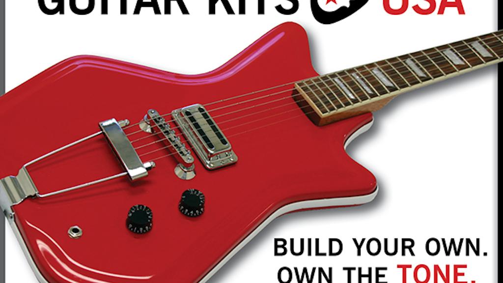 USA Made Fiberglass Guitar Bodies. Dream. Build. Play Loud. project video thumbnail
