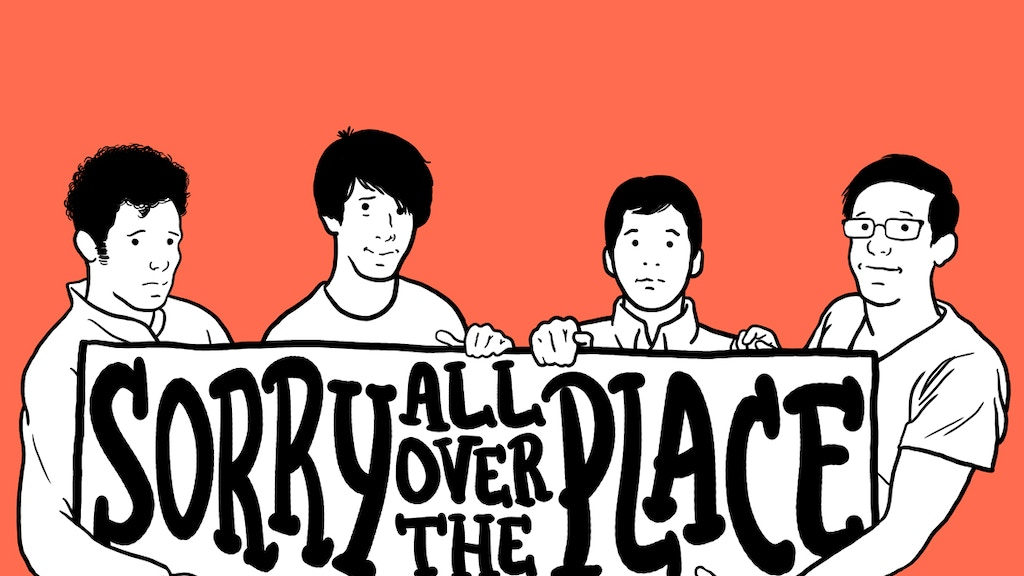 The Kickback: Debut Album 'Sorry All Over The Place' project video thumbnail