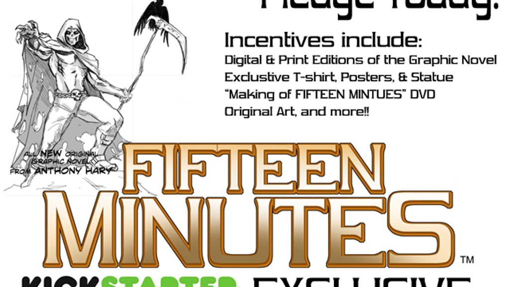 Fifteen Minutes: Graphic Novel project video thumbnail
