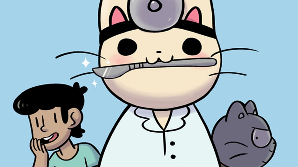 Doctor Cat Books project video thumbnail