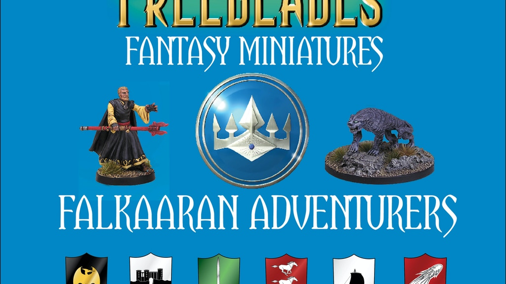 Freeblades Fantasy Miniatures: Falkaaran Adventurers project video thumbnail