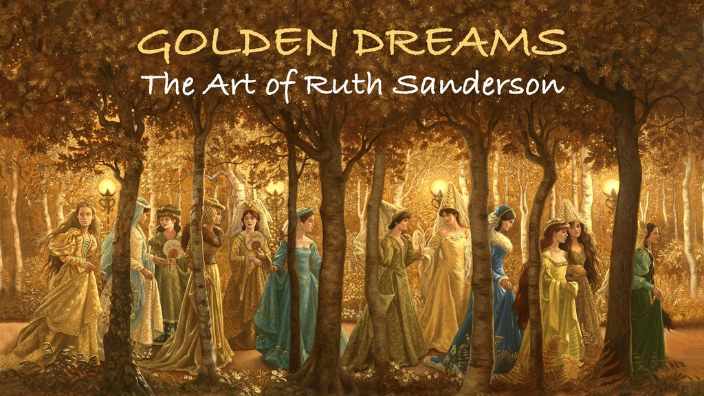GOLDEN DREAMS, The Art of Ruth Sanderson project video thumbnail