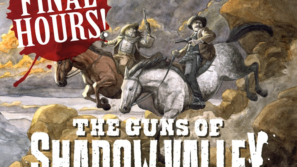The Guns of Shadow Valley: Complete graphic novel project video thumbnail