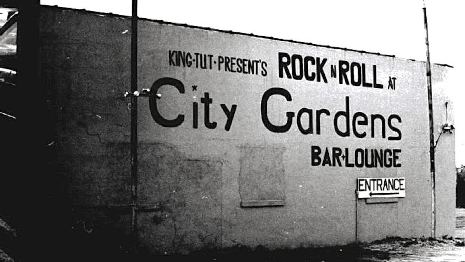 The site of legendary Trenton punk venue City Gardens is up