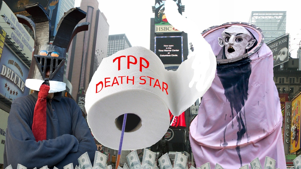 MONEY WARZ: #TPP DEATH STAR video for #OWS 2nd anniversary project video thumbnail