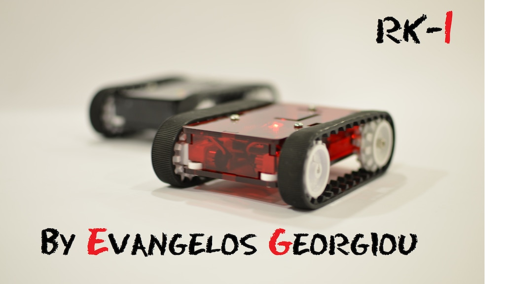 RK-1 | a wifi Arduino mobile robot for iOS & Android devices project video thumbnail