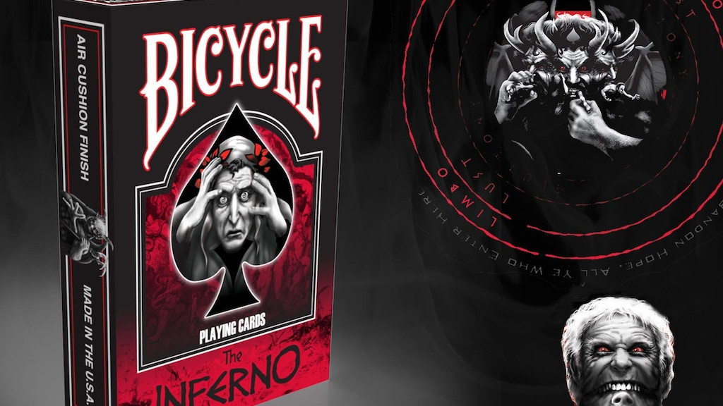 DANTE'S INFERNO BICYCLE® PLAYING CARD DECK (Dante Alighieri) project video thumbnail