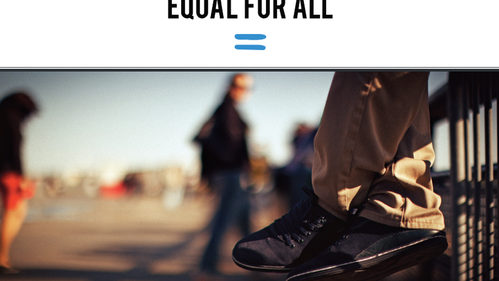 The Equal Shoe project video thumbnail