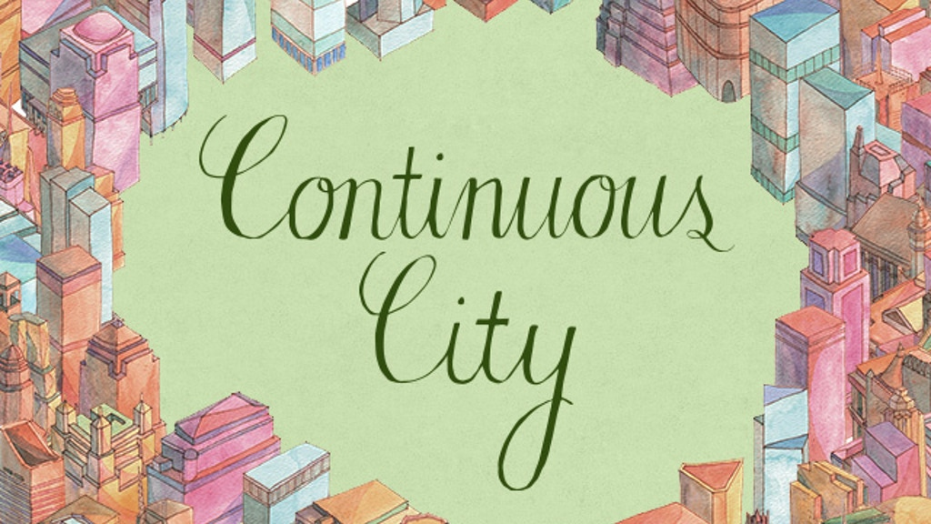Continuous City project video thumbnail
