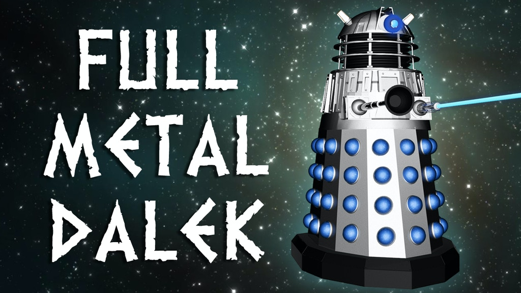 Project image for Full Metal Dalek -The only titanium robot Dalek in the world