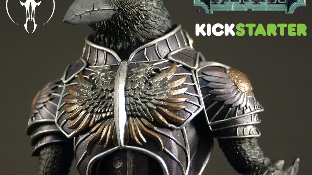 Gothitropolis Raven Action Figure by Four Horsemen Studios project video thumbnail