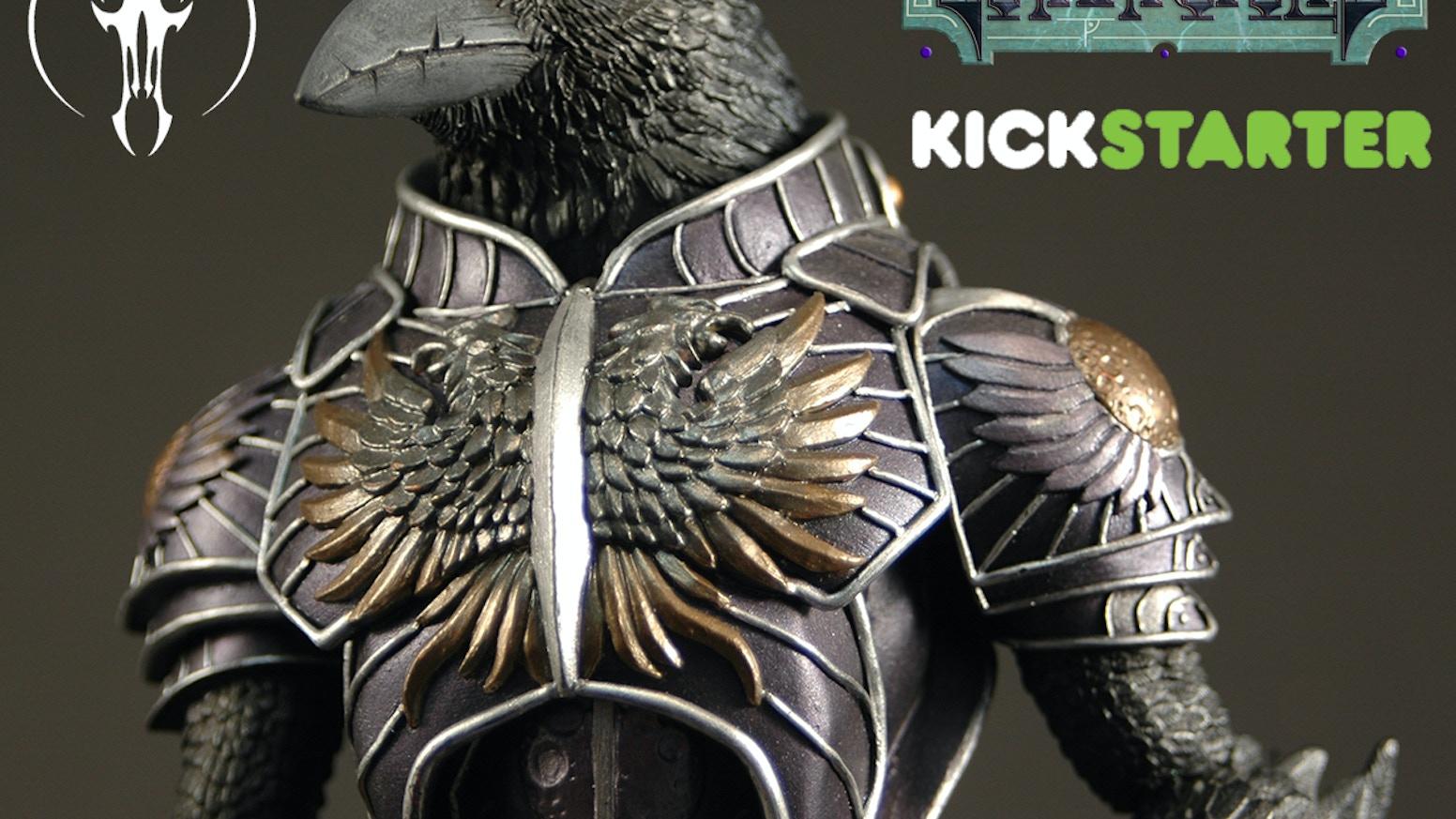 Gothitropolis Raven Action Figure by Four Horsemen Studios