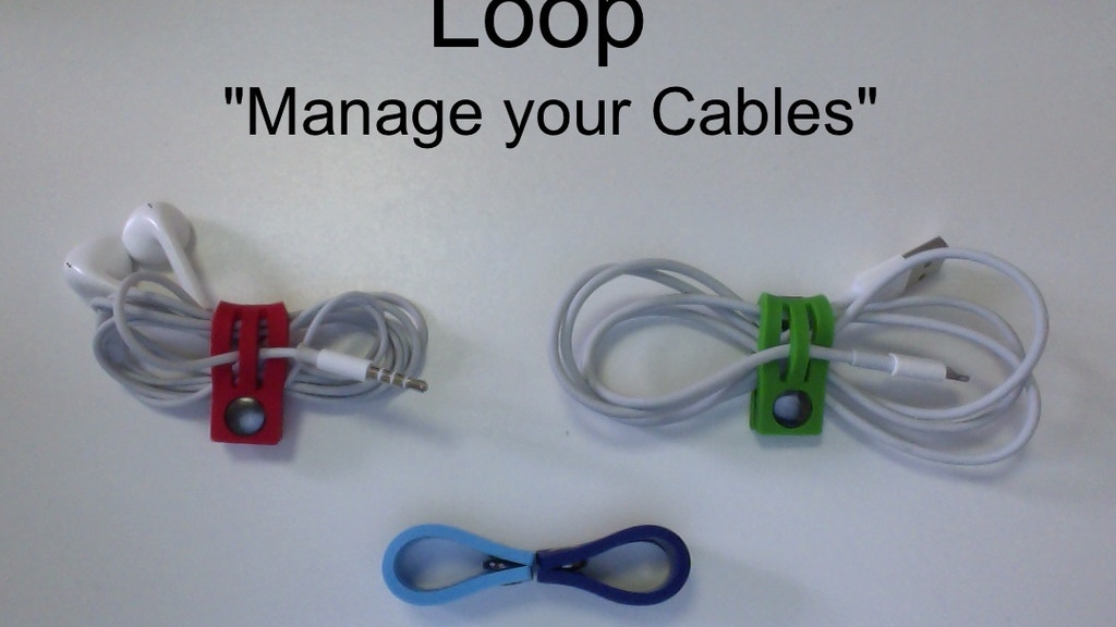 Loop = Organized Cables. project video thumbnail