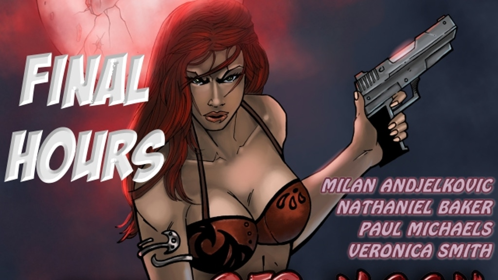 The Rise of Red Moon Comic Book project video thumbnail
