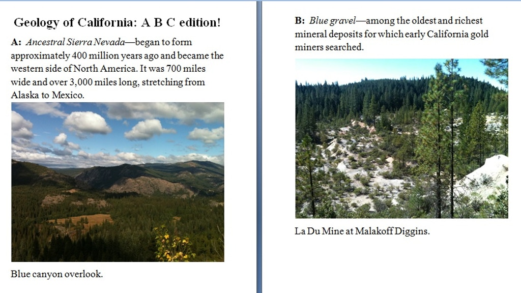Geology of California: ABC Edition! project video thumbnail