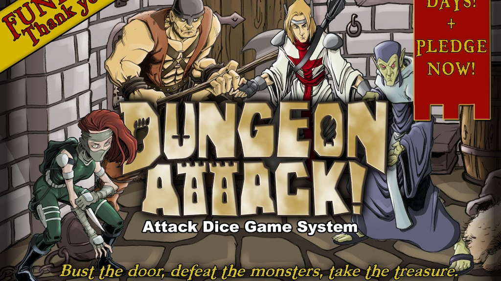 DUNGEON ATTACK! project video thumbnail