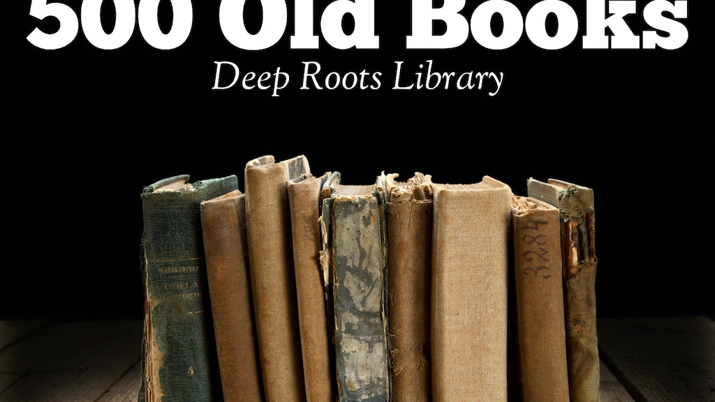 500 Old Christian Books, REPUBLISHED! project video thumbnail
