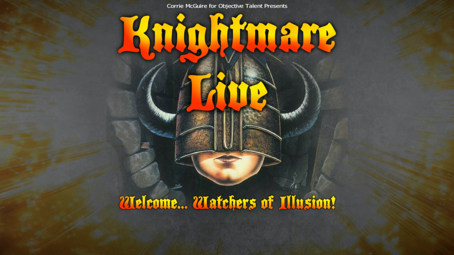 Knightmare Live; The cult TV show on stage for the 1st time by Paul ...