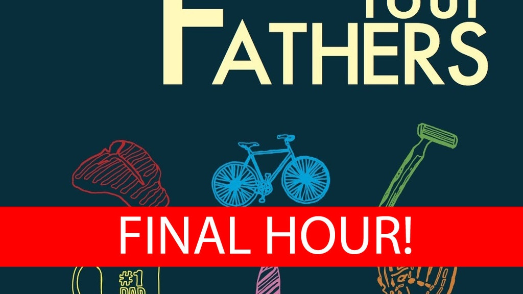 Cobalt Press Start-Up / First Book: FOUR FATHERS project video thumbnail