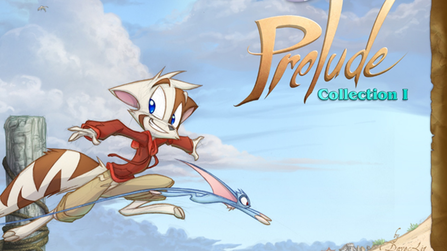 The DK Prelude webcomic, collected in a hefty full-color book.  280 pages of comics, illustrations, concept notes, and cartoon fun.