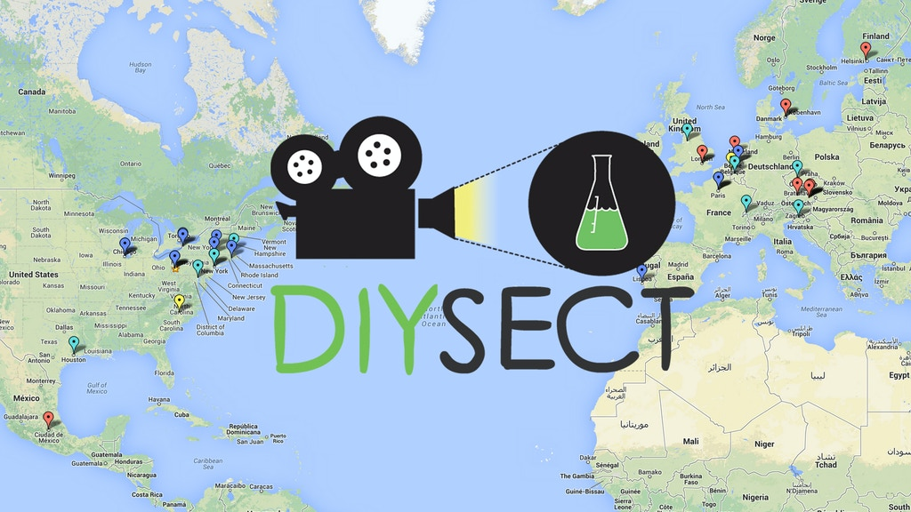 DIYsect: Filming Biotinkering for the Web project video thumbnail