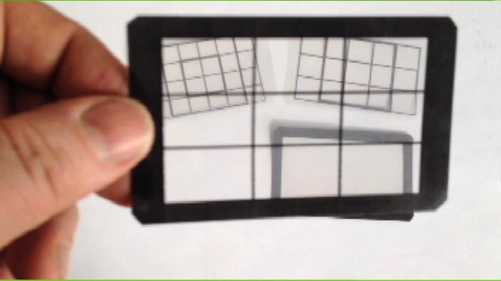 Wallet residing grid cards for artists and film makers project video thumbnail