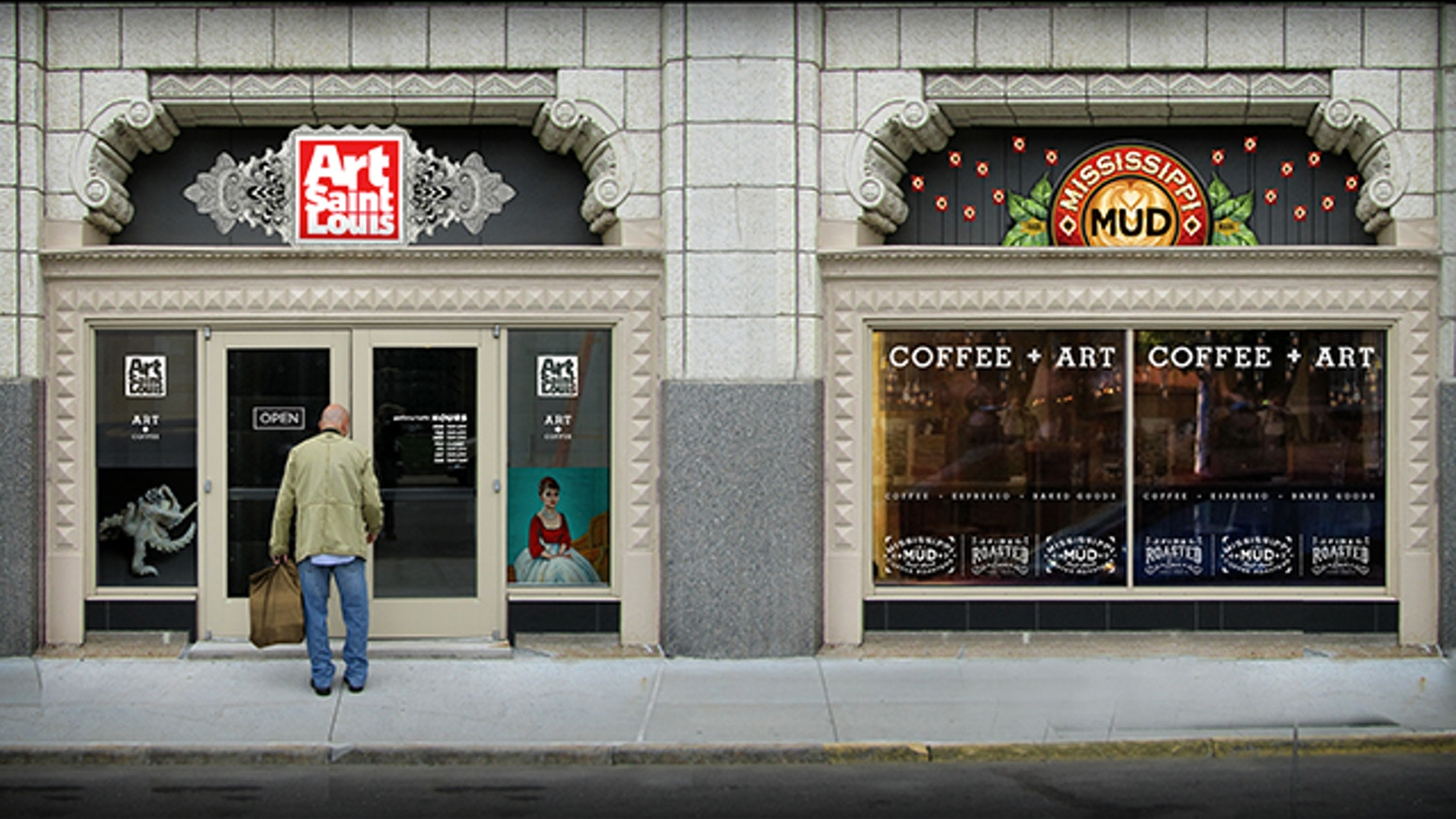 Gallery Cafe Hybrid In Downtown St Louis