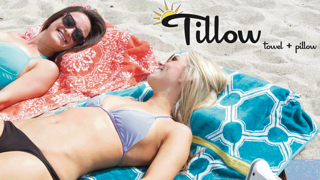The Tillow: Beach Towel+Pillow. project video thumbnail