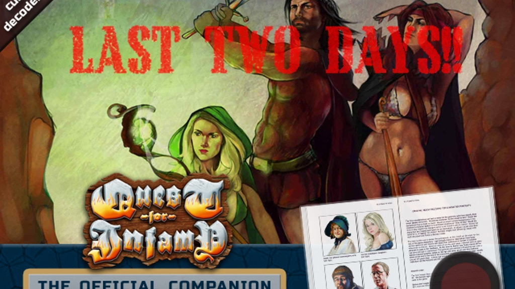 The Quest For Infamy Companion - Art/Strategy/Hint Book project video thumbnail