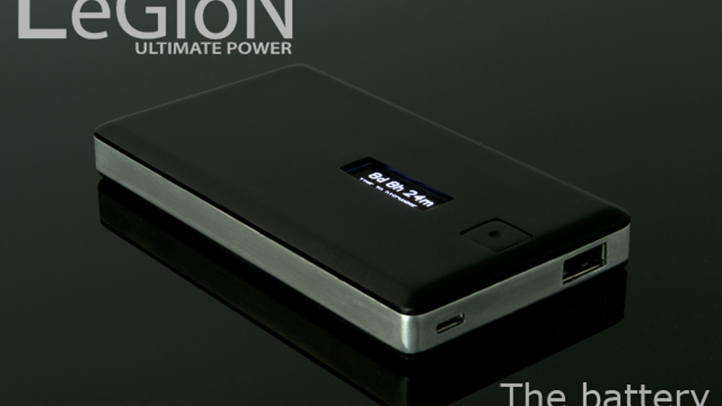 Legion - The Battery Reinvented project video thumbnail