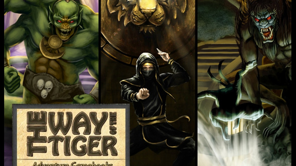 The Way of the Tiger Gamebooks, New Collector's Edition project video thumbnail