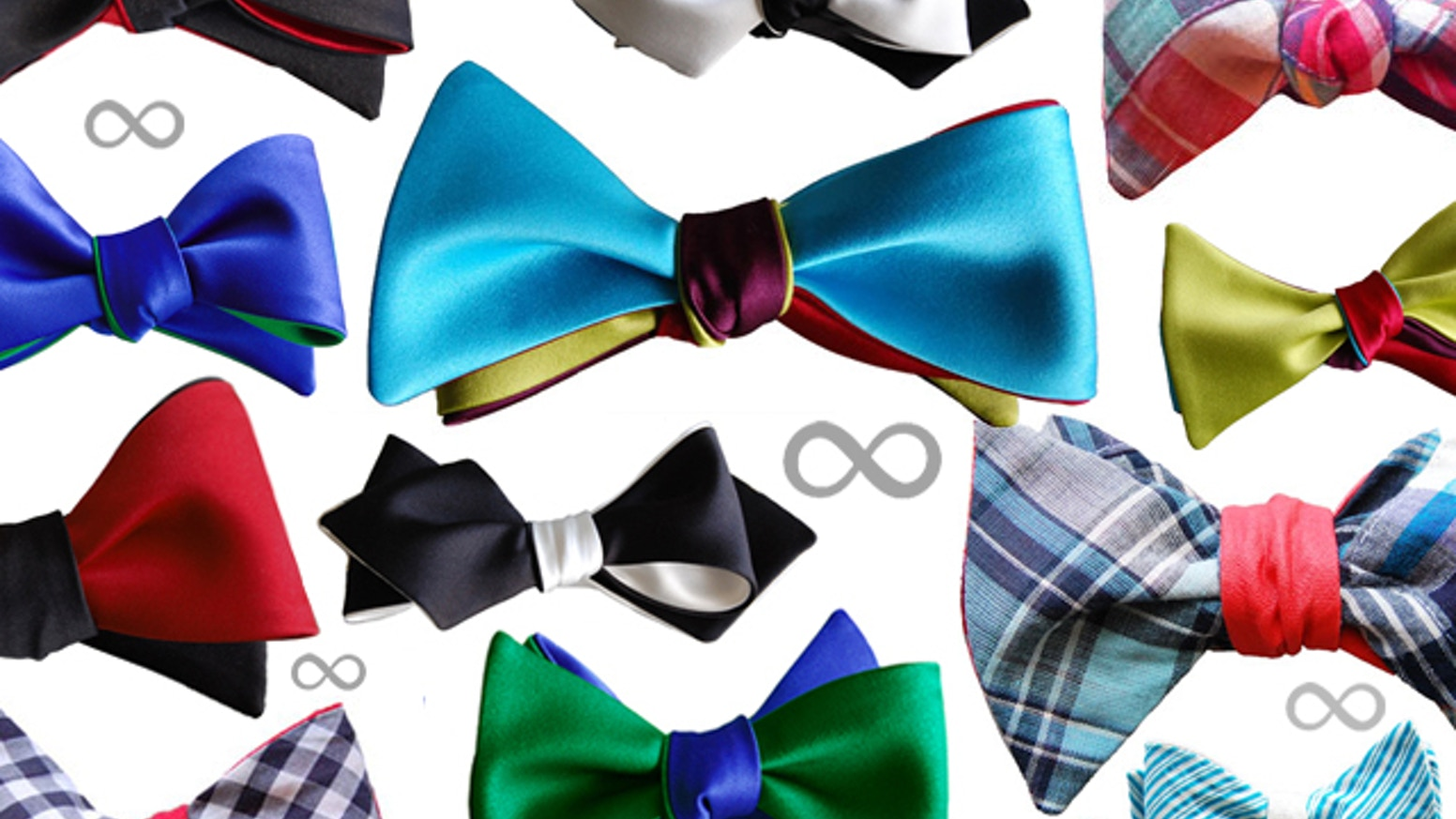 Bow ties are cool. You can create an infinite combinations with these modular bow ties designed by Knot Theory.
