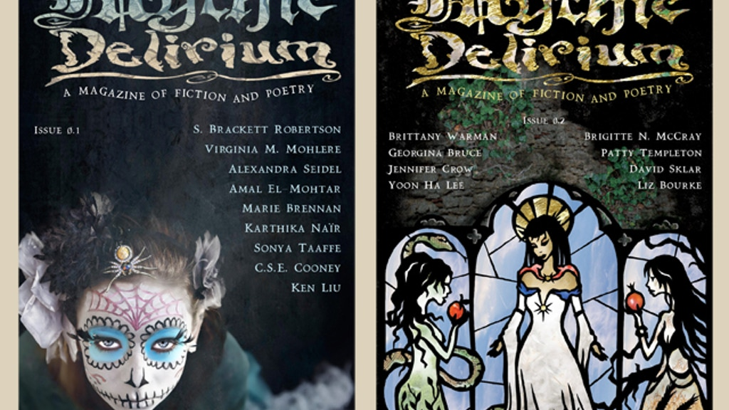 Mythic Delirium: A Magazine of Fiction and Poetry project video thumbnail