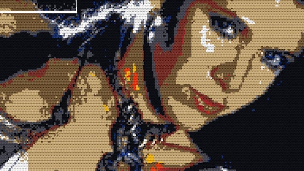 Project image for Princess Leia Mosaic