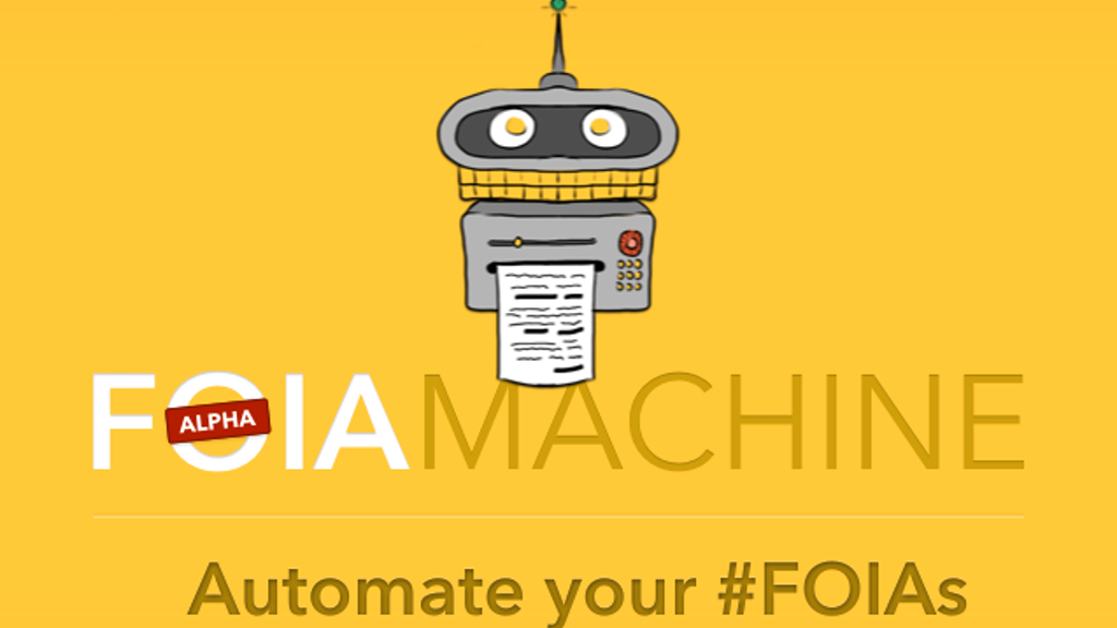 FOIA Machine project video thumbnail