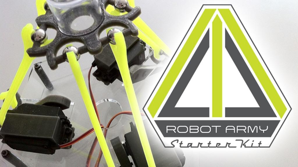 Robot Army Starter Kit project video thumbnail