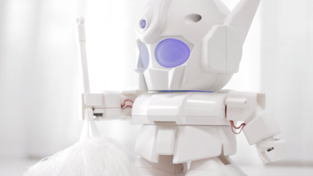 RAPIRO: The Humanoid Robot Kit for your Raspberry Pi project video thumbnail