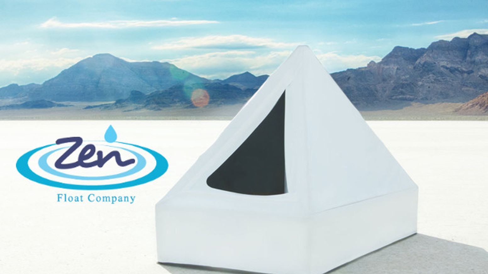 zen float tent - first affordable isolation tank for home by zen