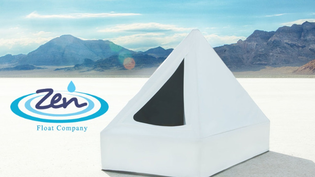 Zen Float Tent - First Affordable Isolation Tank For Home project video thumbnail