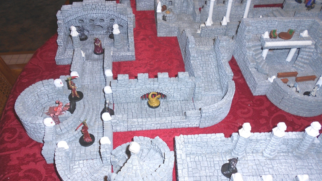 Mythical Lairs - The Next Step in Dungeon Terrain project video thumbnail