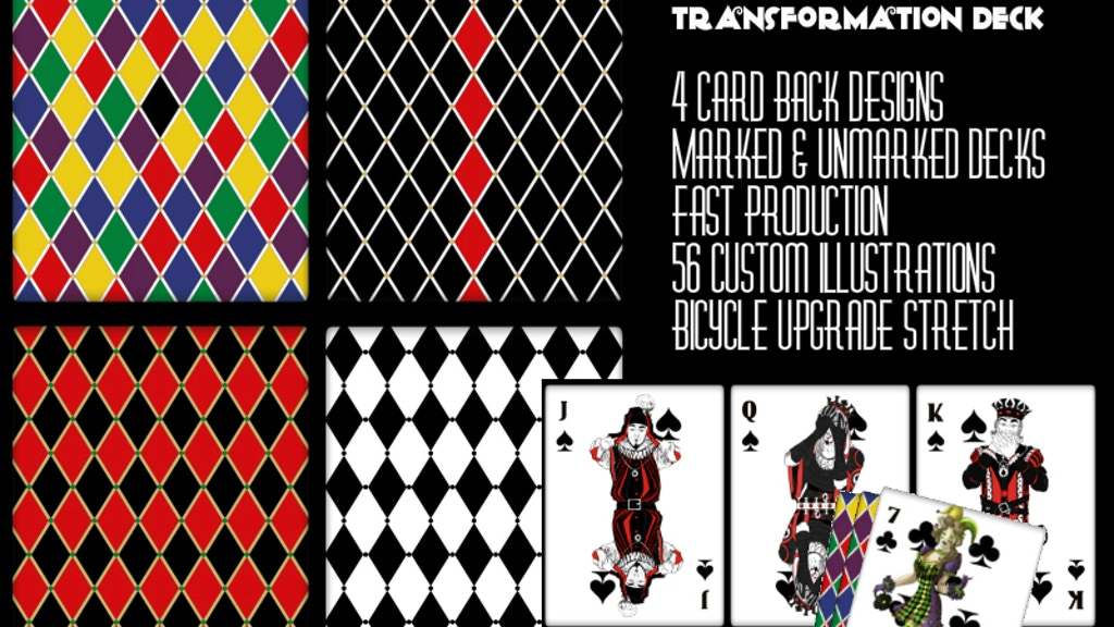 All Jokers Transformation Playing Cards project video thumbnail