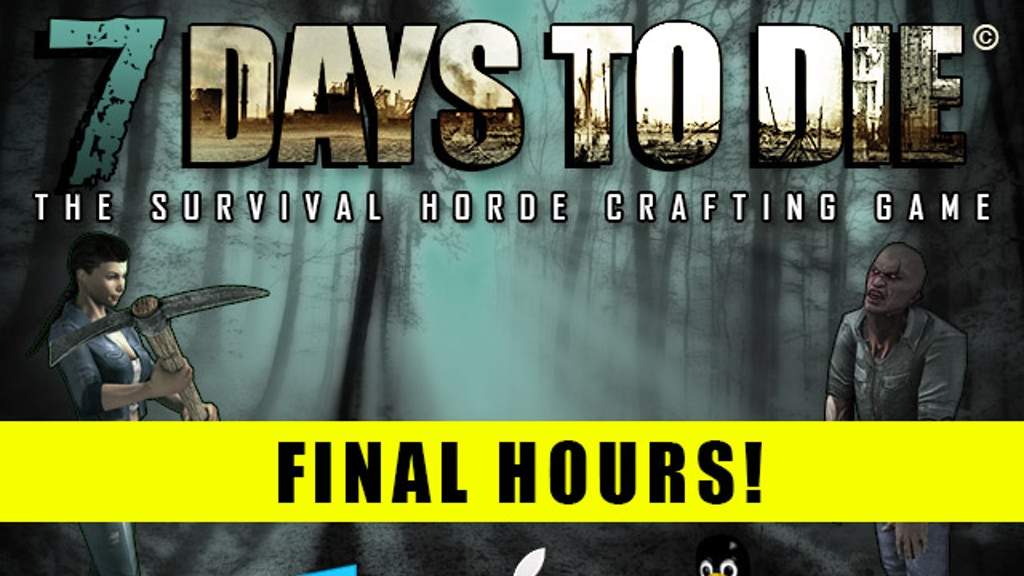 7 days to die zombie survival game by the fun pimps for Zombie crafting survival games