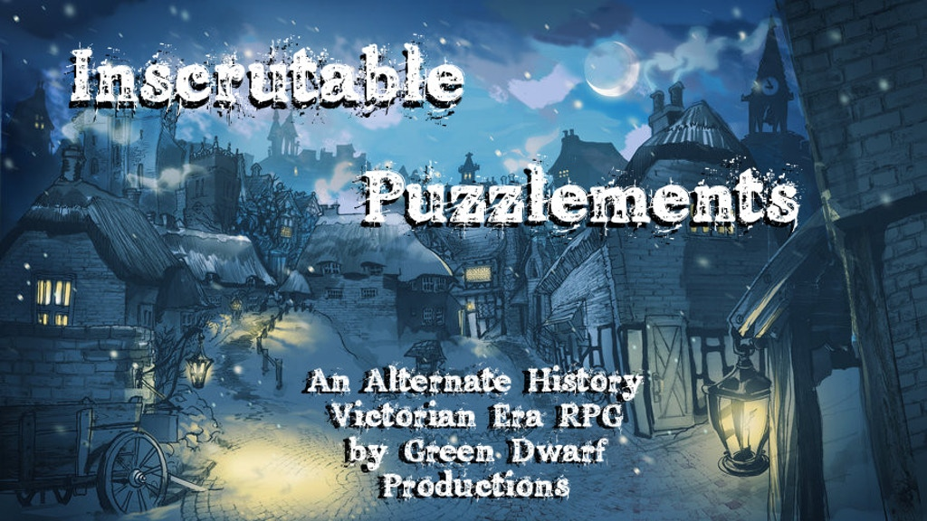 Inscrutable Puzzlements: An Anachronistic Victorian Era RPG project video thumbnail
