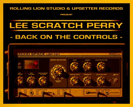 The New Lee Scratch Perry Album Back On The Controls