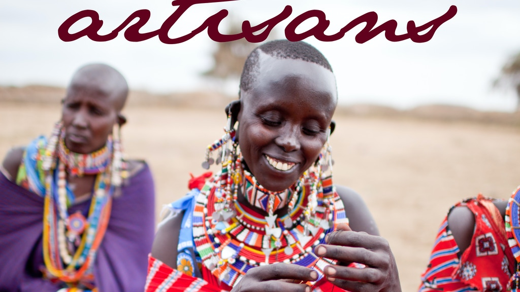 Fair Trade Maasai Jewelry - Raven + Lily project video thumbnail