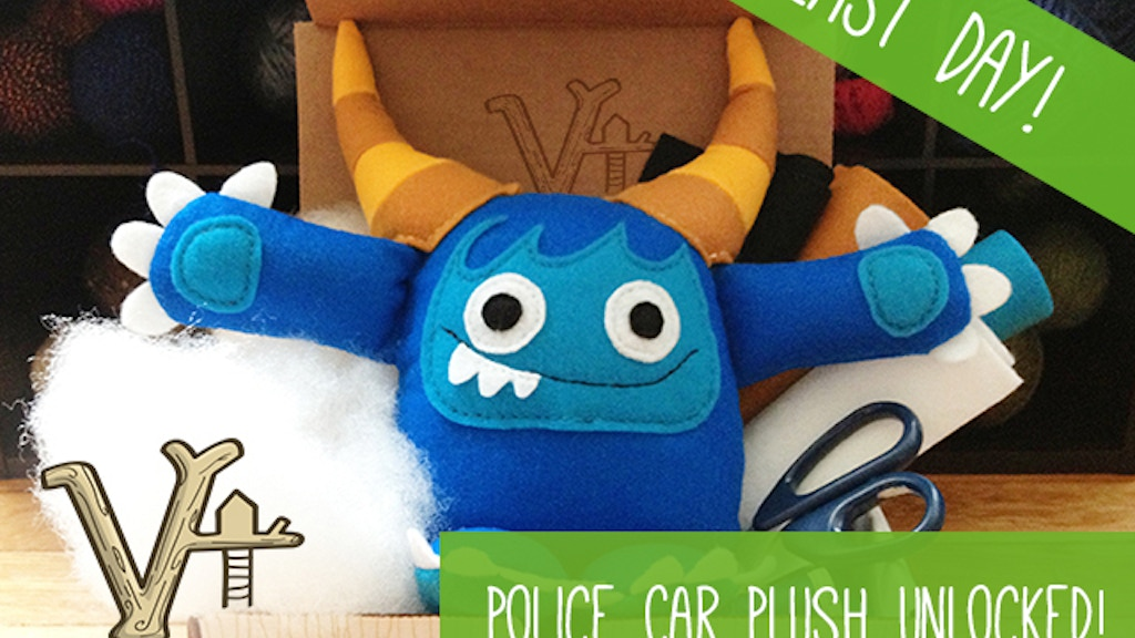 Treefort Five - Learn How To Make Plush Toys project video thumbnail