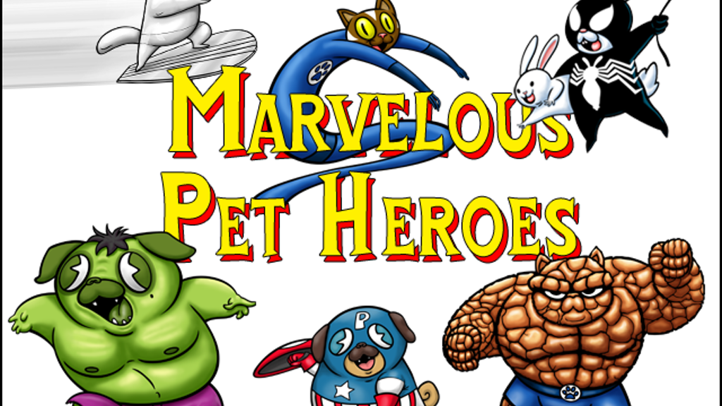 Marvelous Pet Heroes: Whimsical Comic Book Covers Reimagined project video thumbnail